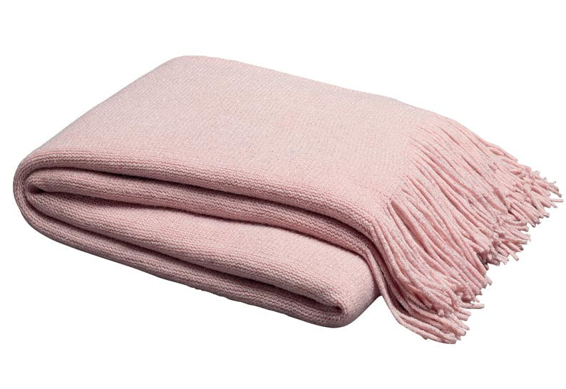 Lurex Throw Pink