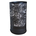 Electric Touch Warmer Butterfly and Roses Black