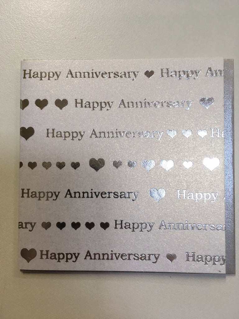 Mini Card Happy Anniversary