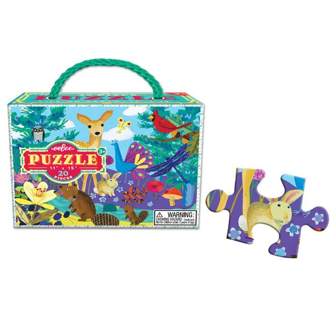 Eeboo - Life On Earth - 20 Pce Puzzle