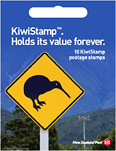 NZ Post:Booklet Kiwistamps