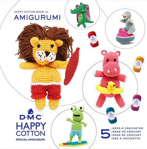 Amigurumi DMC Happy Cotton Book 10 - At the Beach