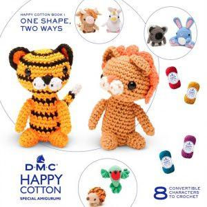 Amigurumi DMC Happy Cotton Book 1 - One Shape Two Ways