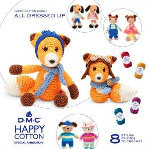 Amigurumi DMC Happy Cotton Book 2 - All Dressed Up