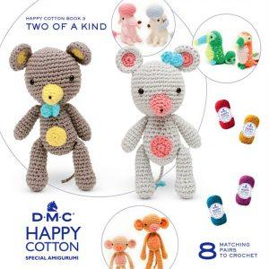 Amigurumi DMC Happy Cotton Book 3 - Two of a Kind