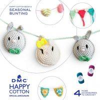 Amigurumi DMC Happy Cotton Book 4 - Seasonal Bunting