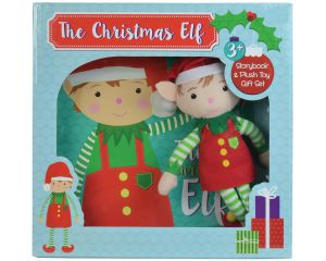 Xmas Elf Story Book/Toy