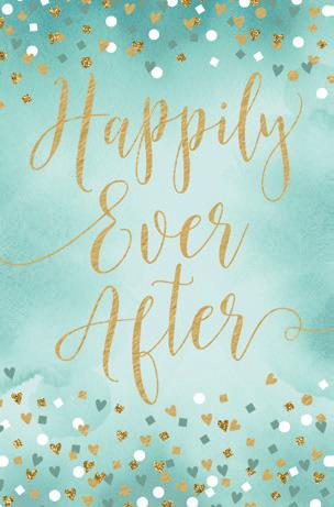 Card Wedding Happily Ever After