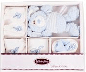 5 Piece Bunny Gift Set in Box