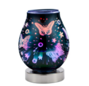 LED 3D Warmer Butterflies