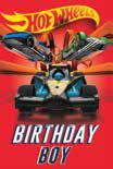 Card Hot Wheels Birthday