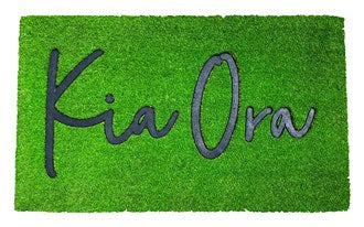 Moana Rd Doormat - Grass Green