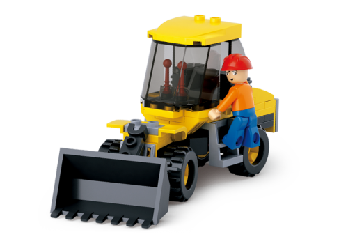 Sluban Town Construction - Small Wheel Loader