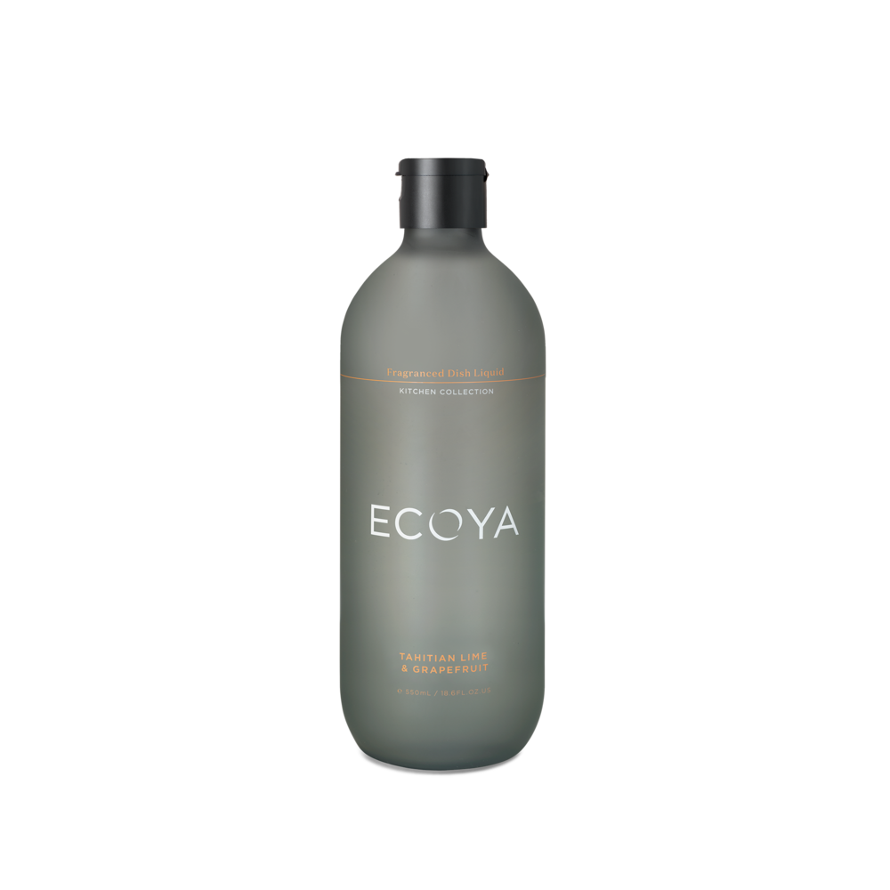 Ecoya Fragranced Dish Soap - Tahitian Lime & Grapefruit