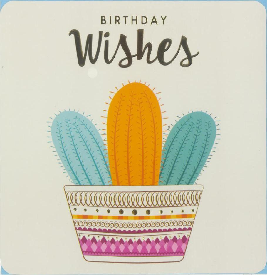 Card Tribal Dreams Cacti