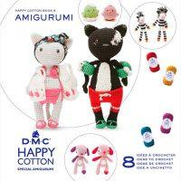 Amigurumi DMC Happy Cotton Book 9 - Duos