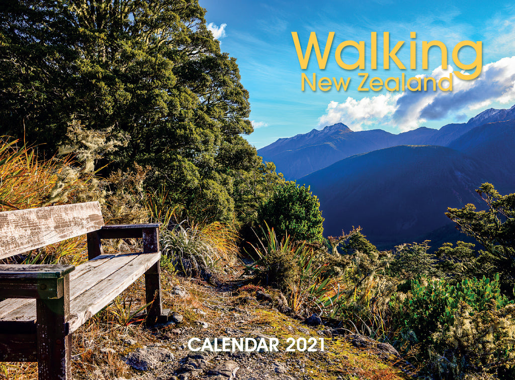 2021 Calendar Walking New Zealand