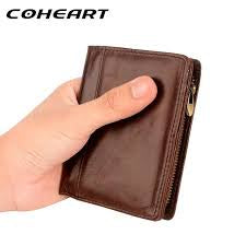 CoHeart 100% Leather Wallet