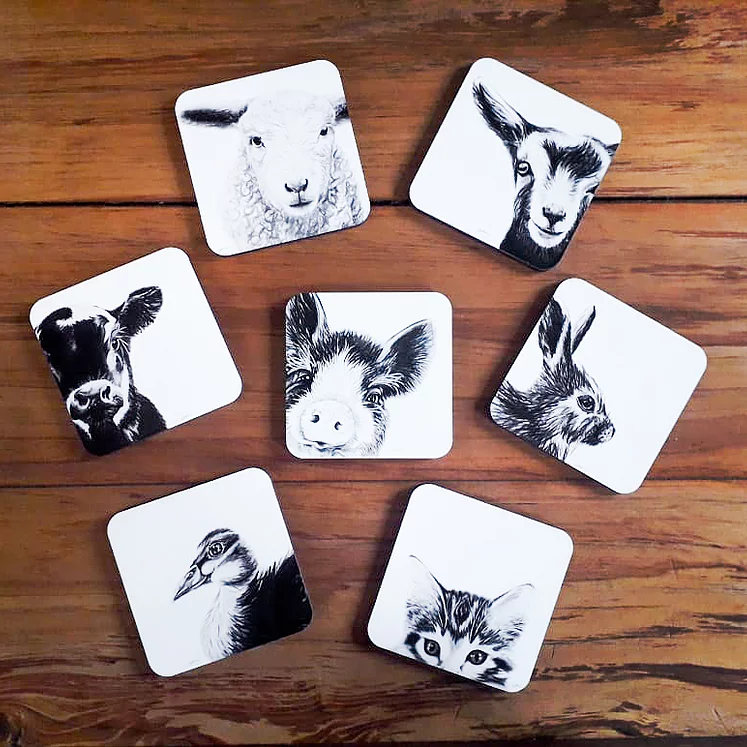 Dana Johnston Innocence Collection - Coasters