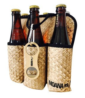 Moana Rd 6 Pack Holder - Flax
