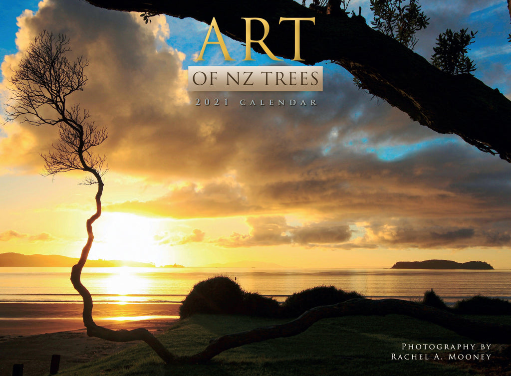 2021 Calendar Art of NZ Trees