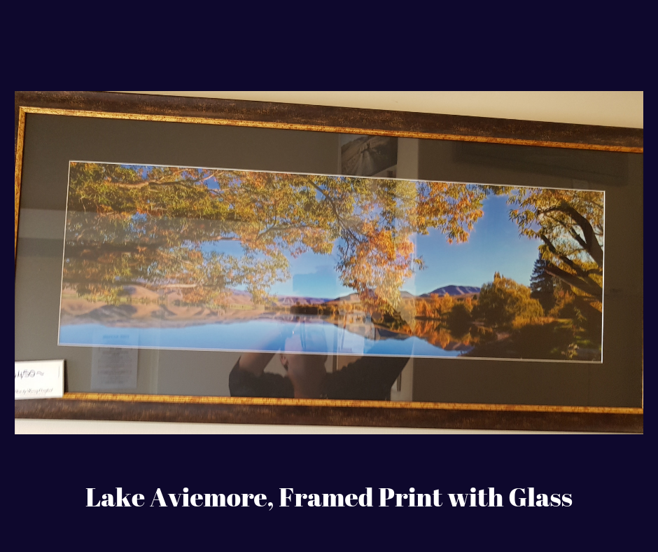 Lake Aviemore Framed Print