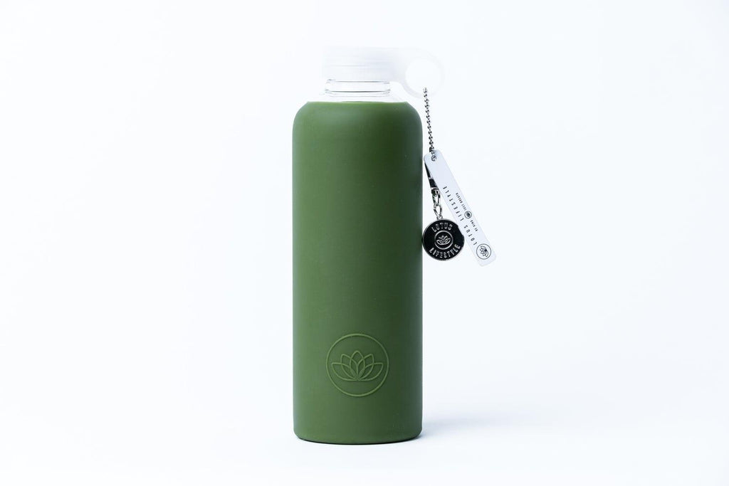 750ml Lotus Bottle - Olive