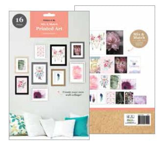 Poster Pack Floral Mix 16pk