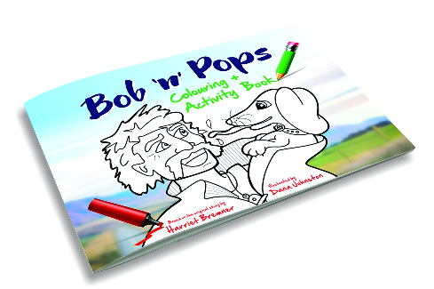 Bob 'n' Pops Colouring + Activity Book