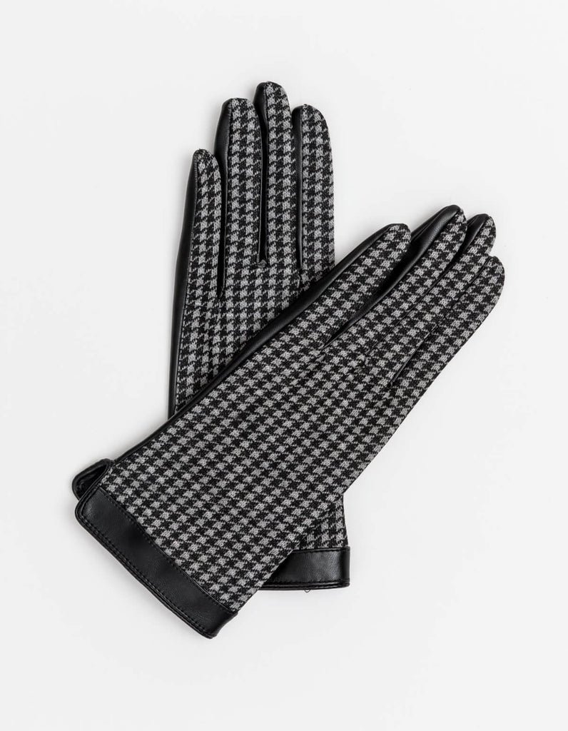 Stella & Gemma Black Tweed Glove