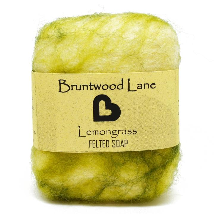 Bruntwood Lane Felted Soap Lemongrass