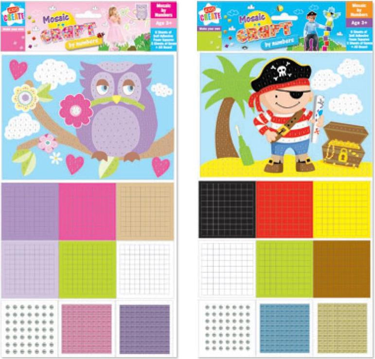Create Mosaic Craft (Pirate)