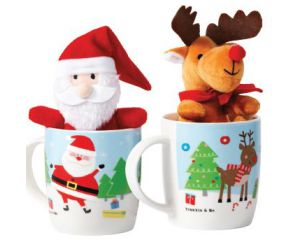 Christmas Mug with Toy