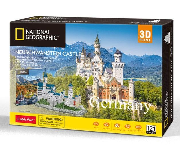 3D Puzzle Neuschwanstein - Germany