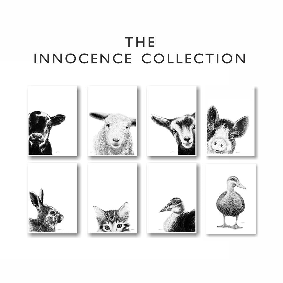 Dana Johnston Innocence Collection A4 Art Prints