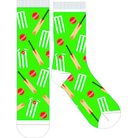 Frankly Funny Socks Cricket