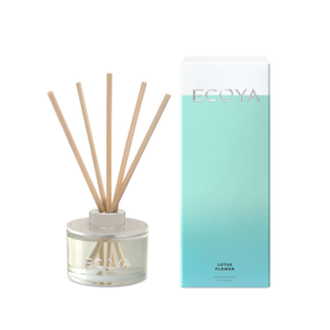 Ecoya Mini Reed Diffuser - Lotus Flower