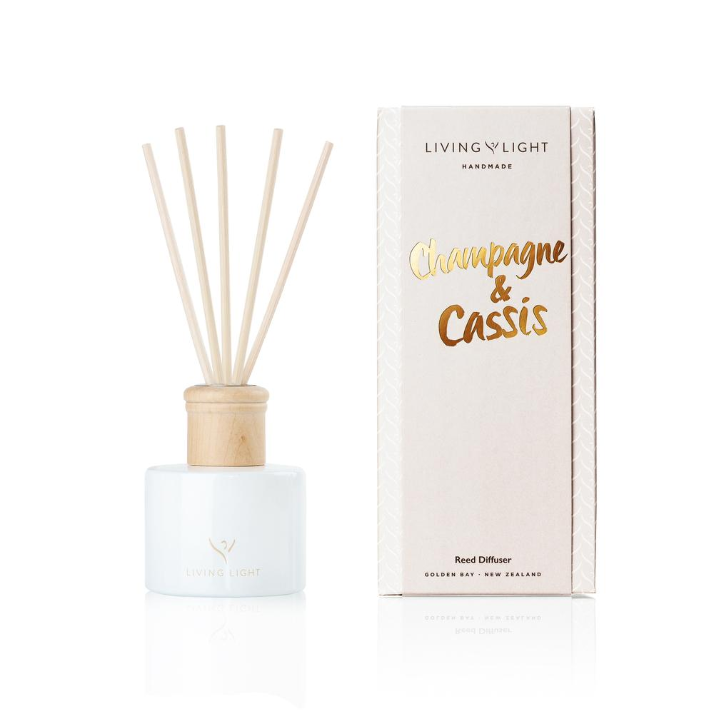 Living Light Dream Diffuser - Champagne & Cassis