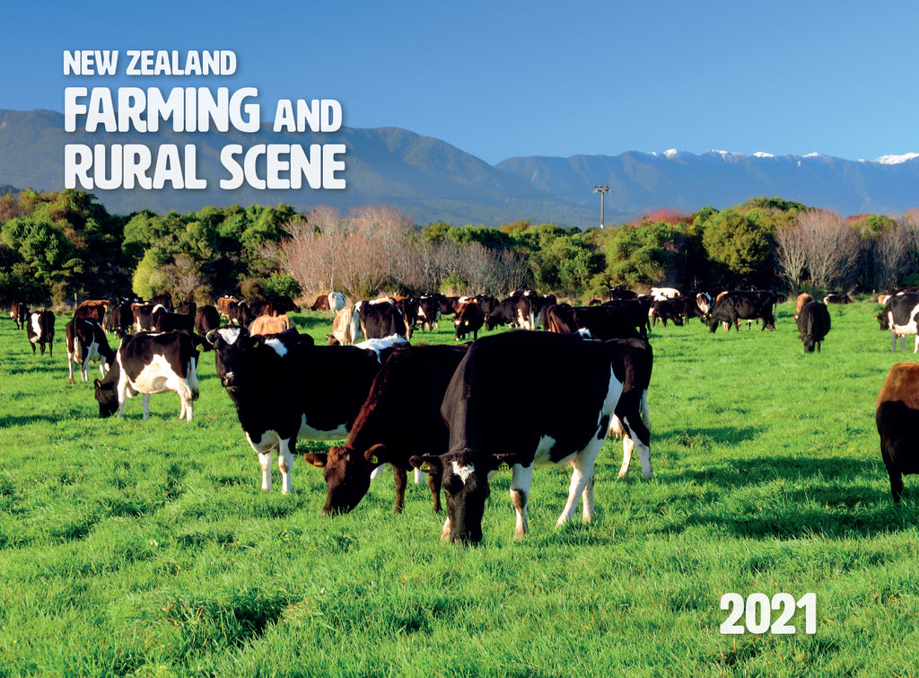 2021 Calendar NZ Farming & Rural Scene