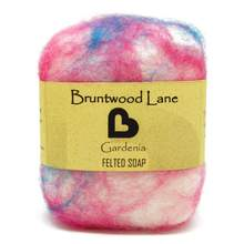 Bruntwood Lane Felted Soap Gardenia