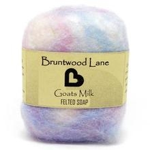 Bruntwood Lane Felted Soap Goats Milk