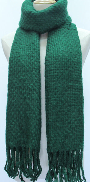 Forest Green Winter Scarf