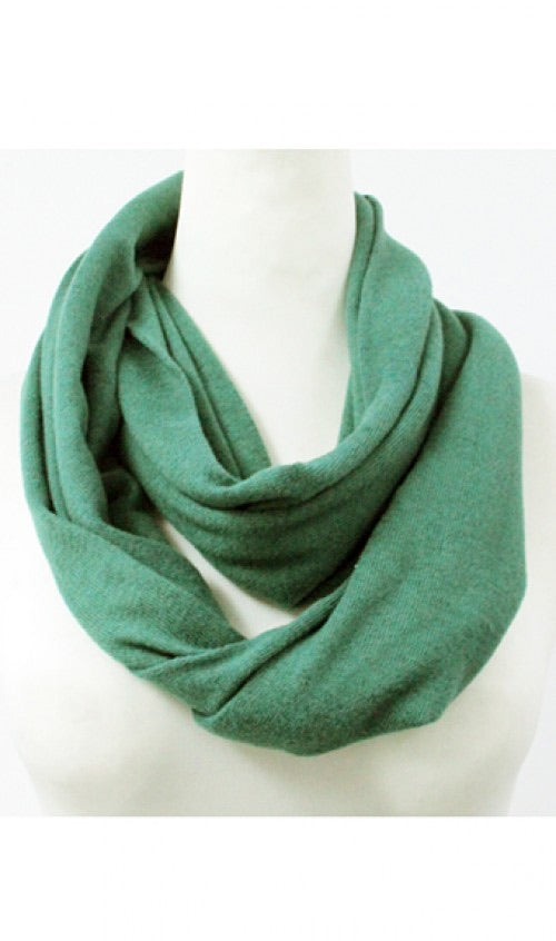 Infinity Scarf Green