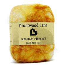 Bruntwood Lane Felted Soap Lanolin & Vitamin A