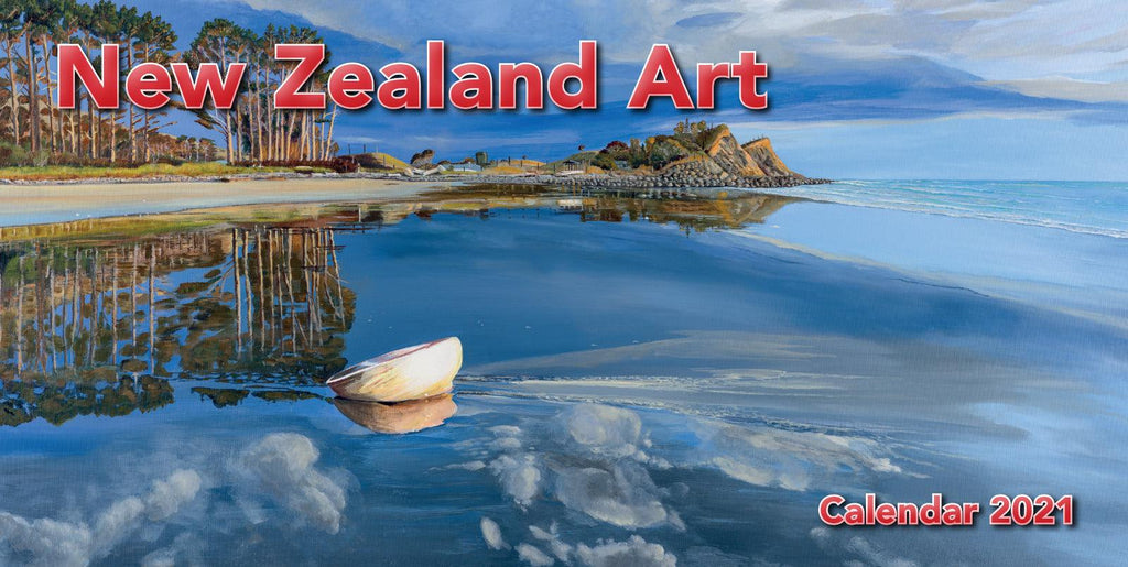 2021 Calendar NZ Art Desk