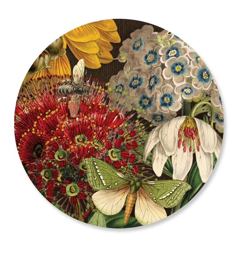 Wolfkamp & Stone Cosmetic Mirror NZ Flowers