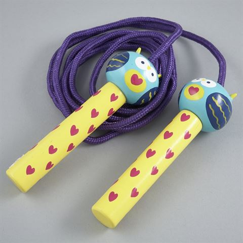 Floss & Rock Owl Skipping Rope