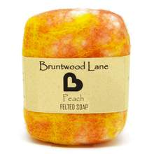 Bruntwood Lane Felted Soap Peach