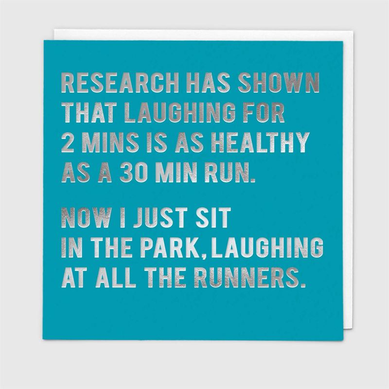 Redback Cards - Research Has Shown - Humour Card
