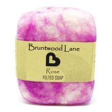 Bruntwood Lane Felted Soap Rose